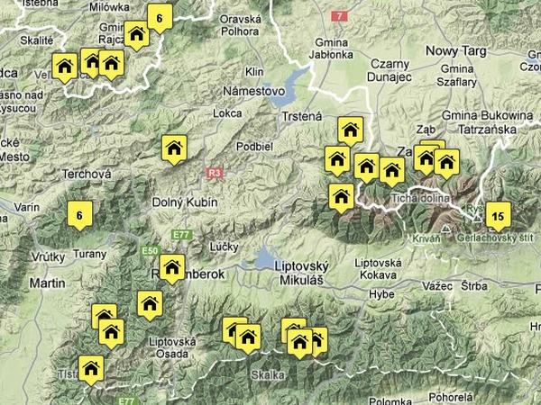 Közép-Európa legfontosabb hegyi házai egy helyen